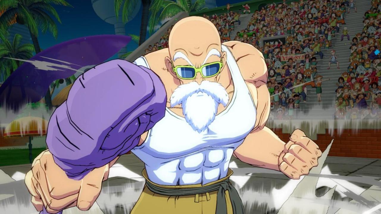 Maestro Roshi tiene fecha y tráiler de salida en Dragon Ball FighterZ