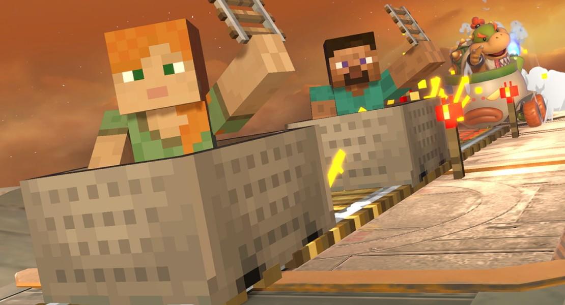 Steve y Alex de Minecraft serán los próximos luchadores de Super Smash Bros. Ultimate