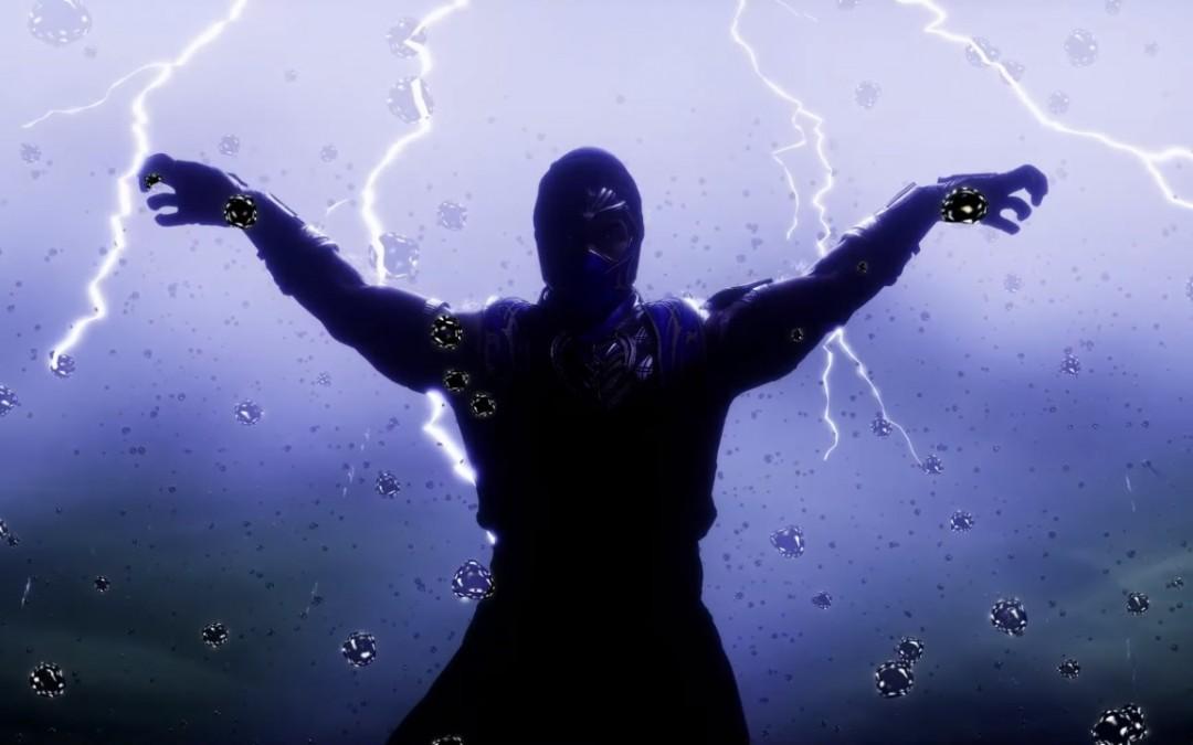 Rain muestra su don ninja de lluvia en Mortal Kombat 11