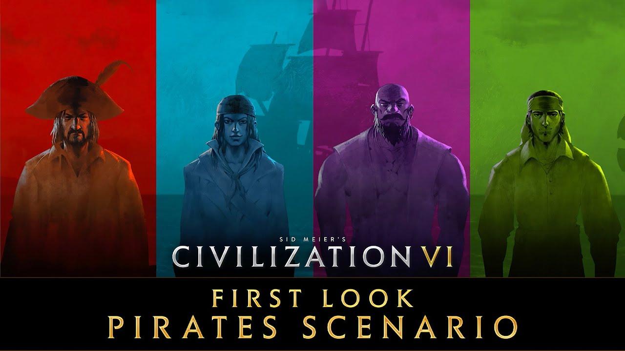 Los piratas sociales llegan a Civilization VI
