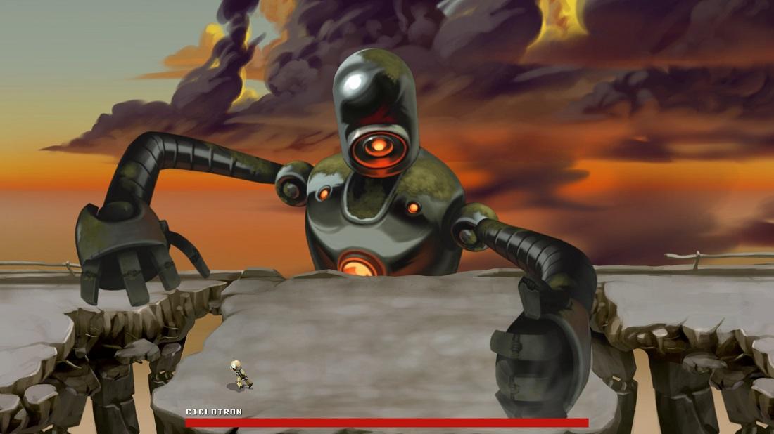 Anunciado Retro Machina, sobre un robot proscrito