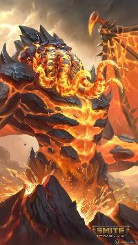 Cthulhu Destructor de lava