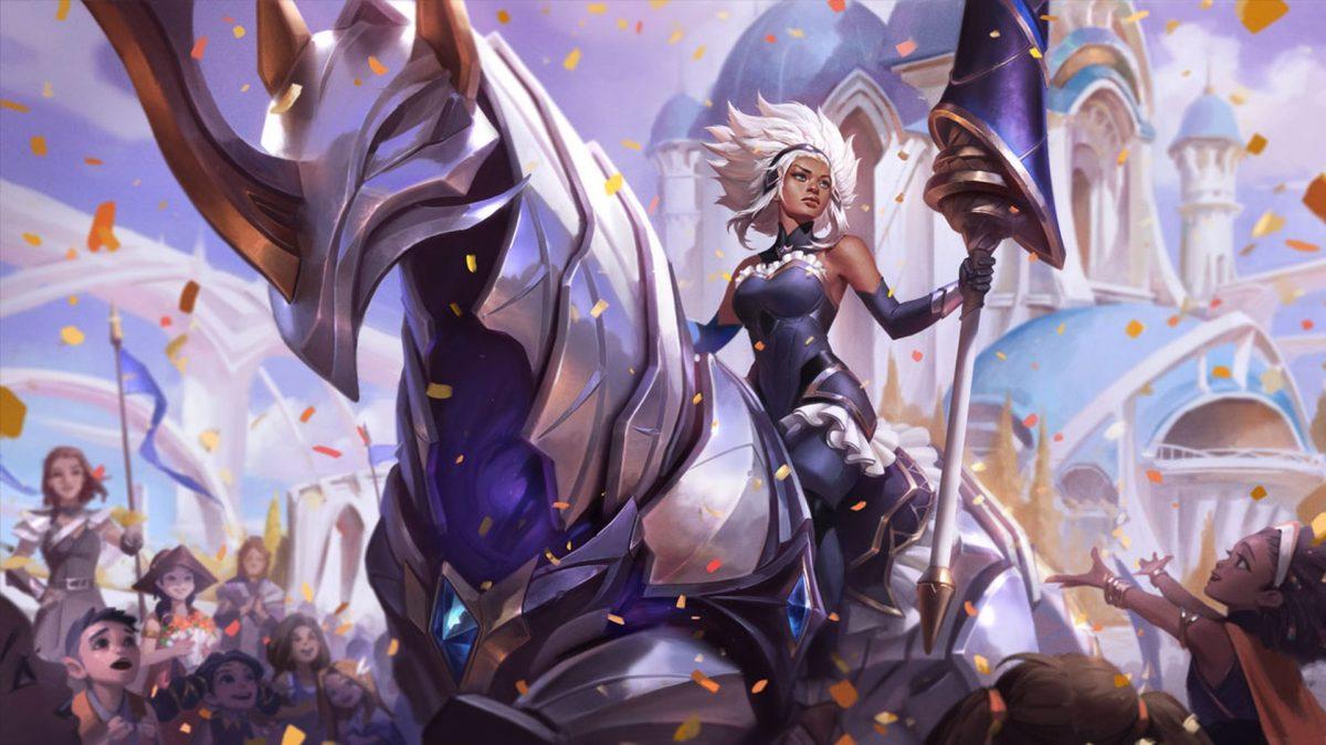 Rell, la dama de hierro, es la nueva campeona jinete de League of Legends