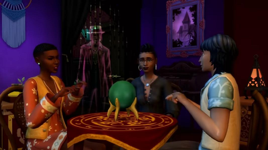 Los Sims 4 presentan su pack de accesorios Fenómenos Paranormales