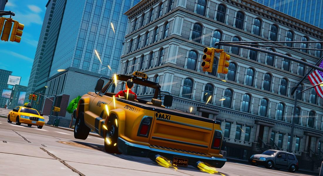 Tesura Games distribuye Taxi Chaos en formato físico