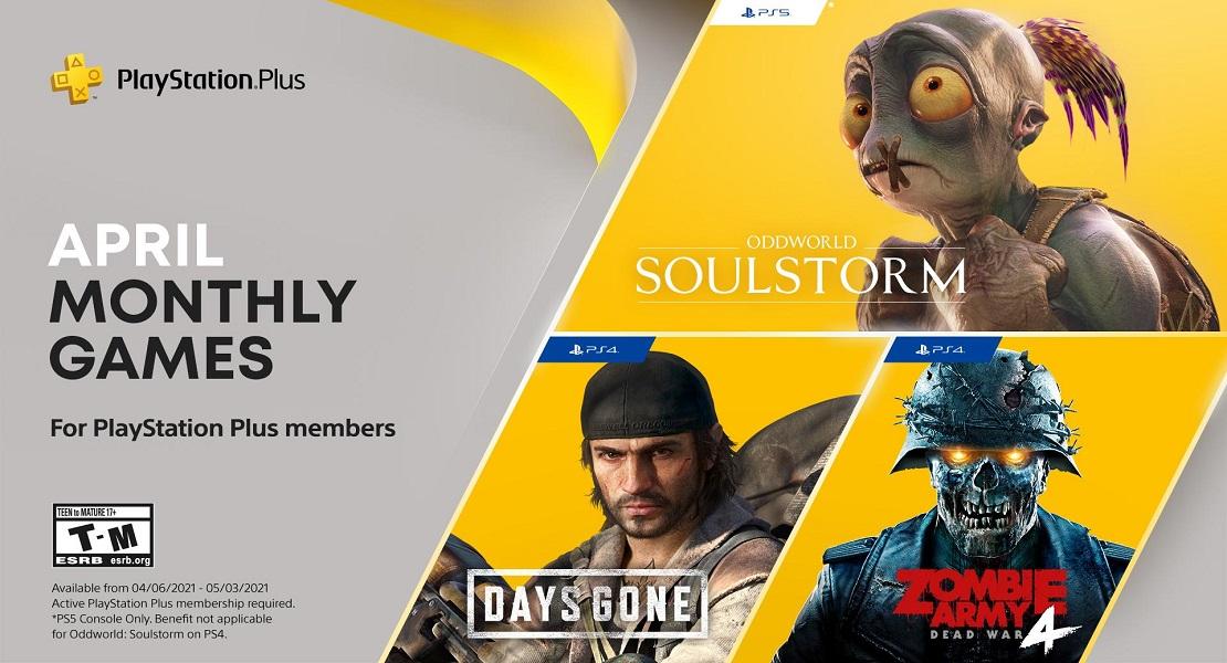 Estos son los juegos de abril para PlayStation Plus