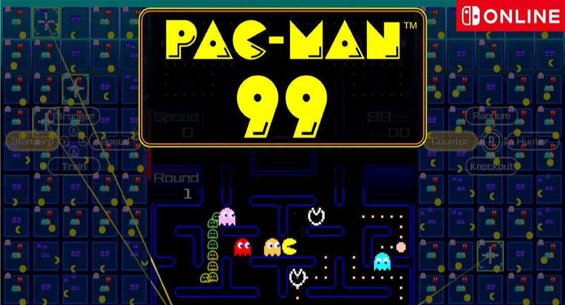 PAC-MAN 99 es el próximo battle royale para los suscriptores de Nintendo Switch Online