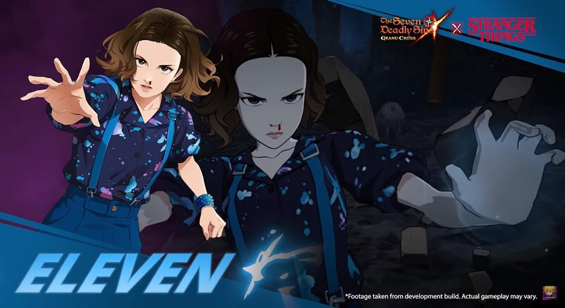 Se estrena crossover de Stranger Things y The Seven Deadly Sins