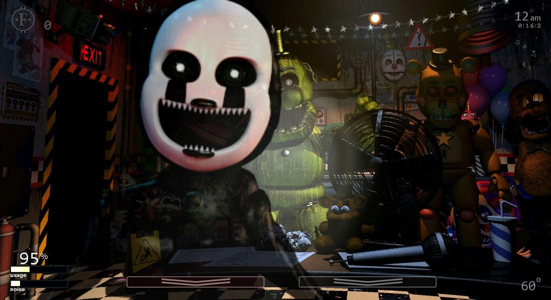 Ultimate Custom Night, diseñador de niveles de Five Nights at Freddy, ya está disponible en consolas