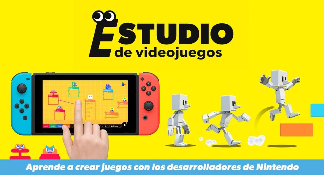 Nintendo presenta Estudio de Videojuegos, su nueva herramienta de creación de juegos
