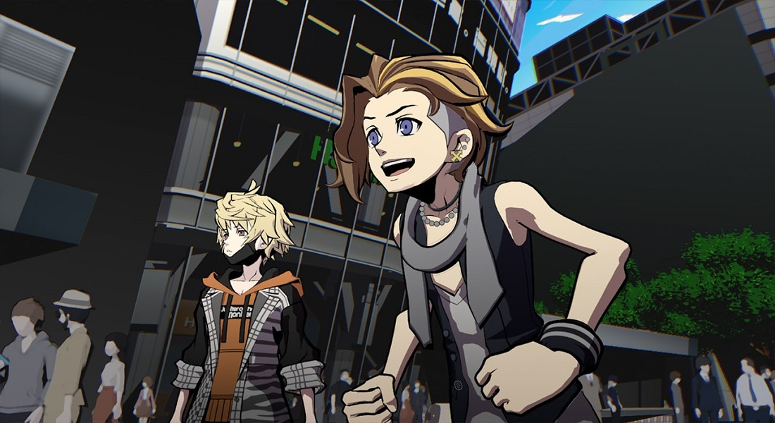 Se muestra el opening de NEO: The World Ends with You