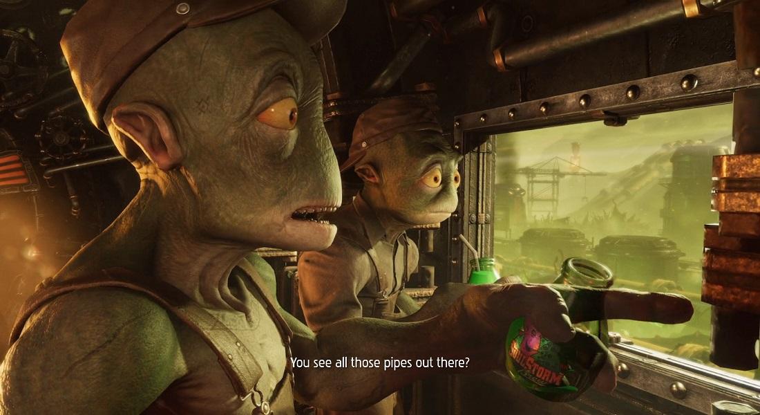 Los brasileños descubren Oddworld: Soulstorm para Xbox Series y Xbox One