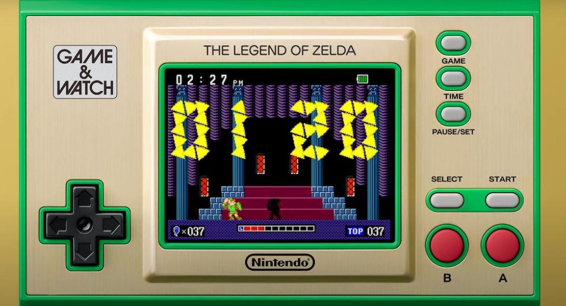 Nintendo celebra el aniversario de Zelda con una nueva Game&Watch