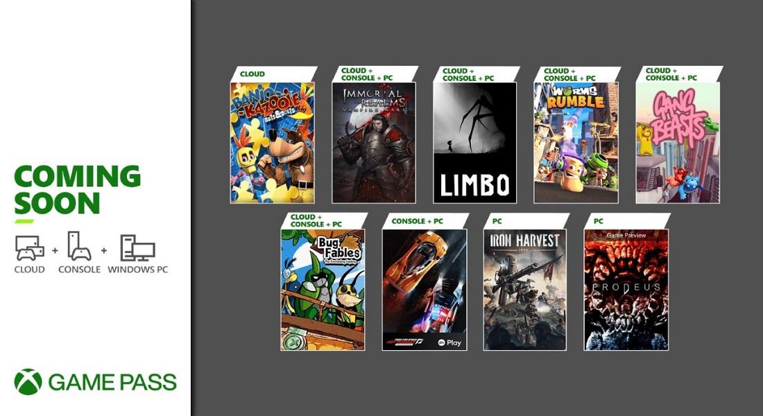 Xbox Game Pass: Bestias pandilleras, cosechadores mecánicos y el oso Banjo