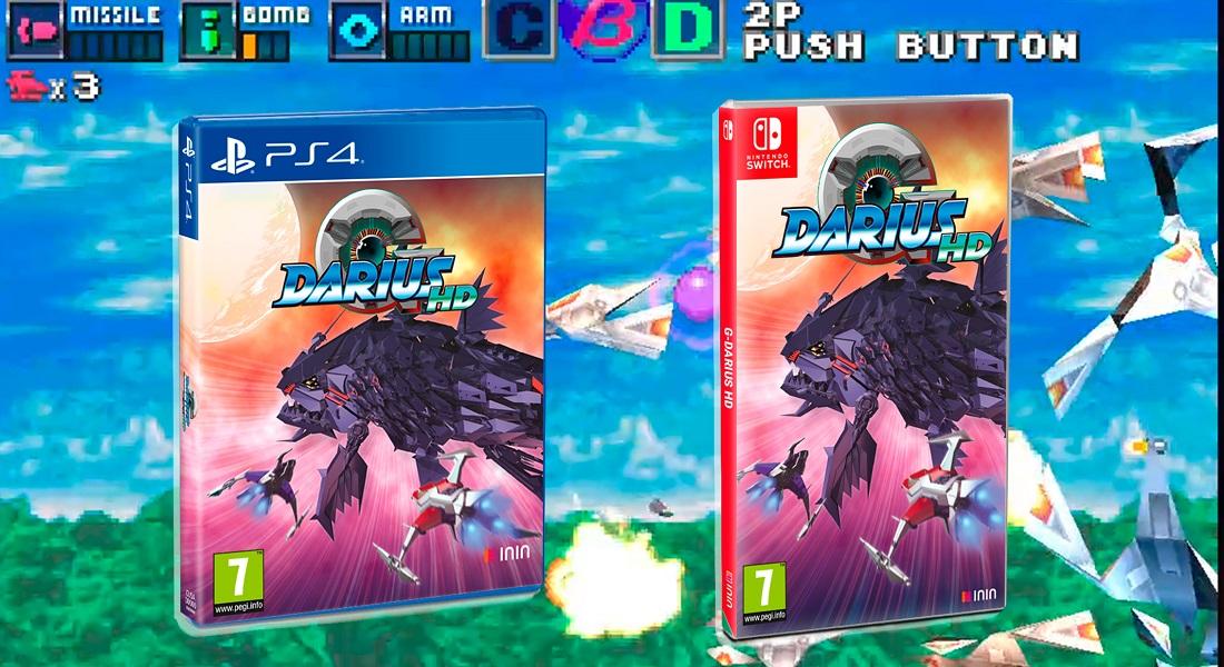 Tesura Games lanzará G-Darius HD en formato físico