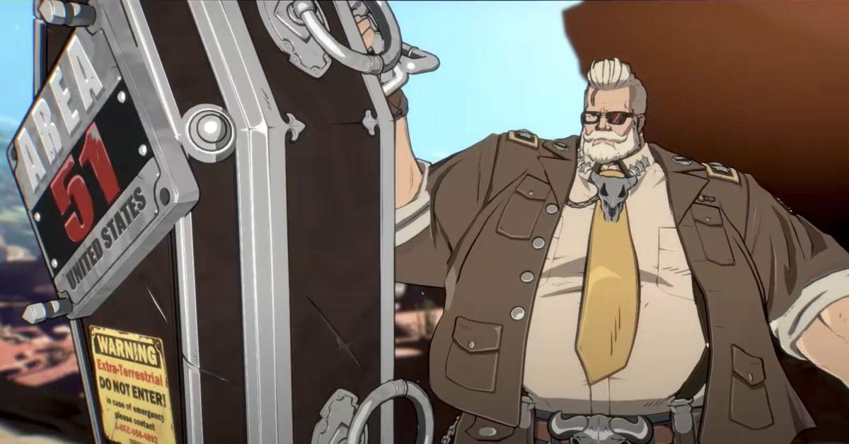 Goldlewis Dickinson, Secretario barbudo de Defensa, llegará a Guilty Gear -Strive-
