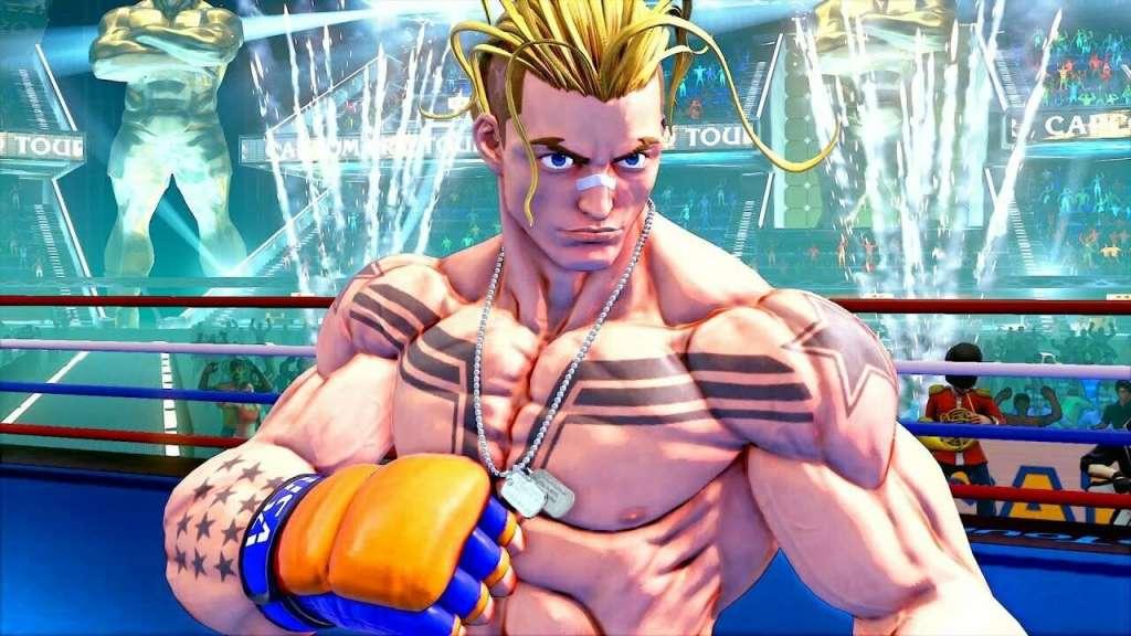 Capcom revela al rubiales Luke como personaje final de Street Fighter V