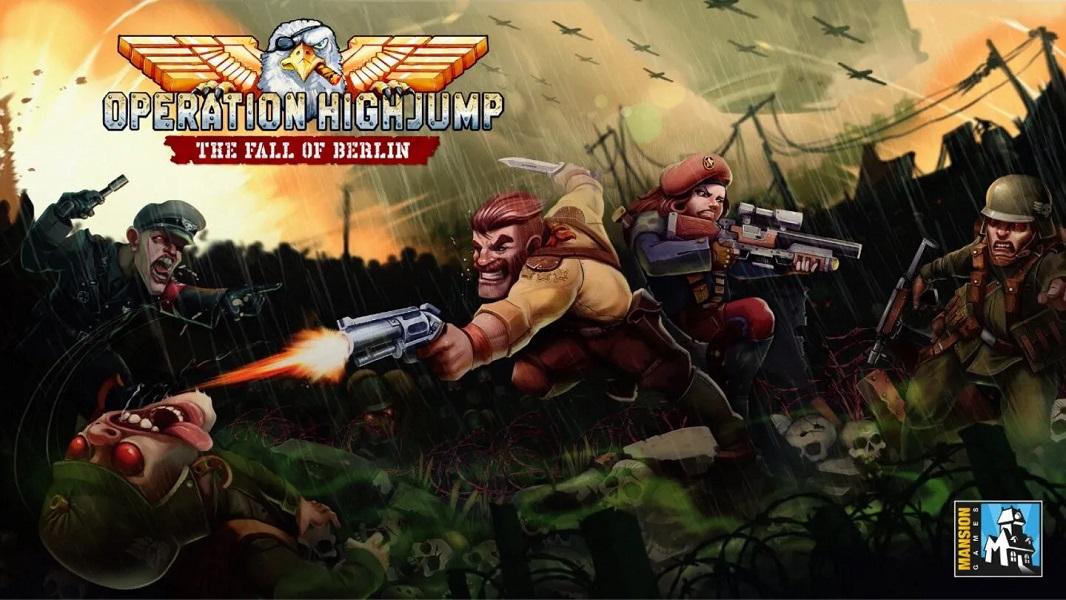 Meridiem Games se alía con el estudio Mansion Games para lanzar Operation Highjump: The Fall of Berlin