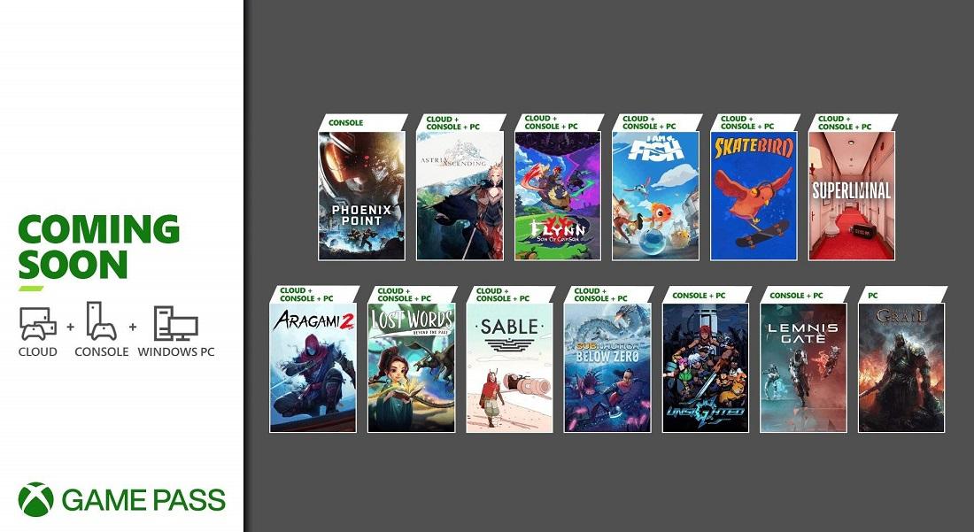 Xbox Game Pass ofrecerá los indies Sable, Aragami 2 y Subnautica: Below Zero