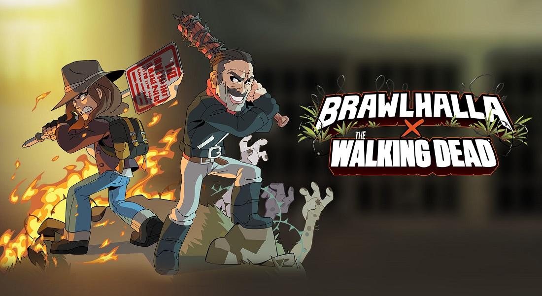 The Walking Dead vuelve a Brawlhalla con Negan y Maggie
