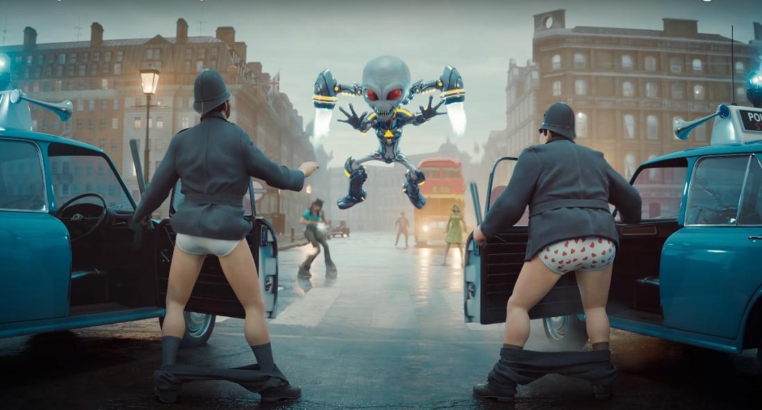 Crypto y Rammstein destruirán el mundo en Destroy All Humans! 2: Reprobed