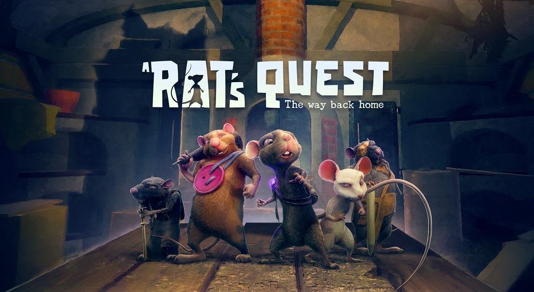 A Rat's Quest: The Way Back Home será una peluda aventura sobre roedores