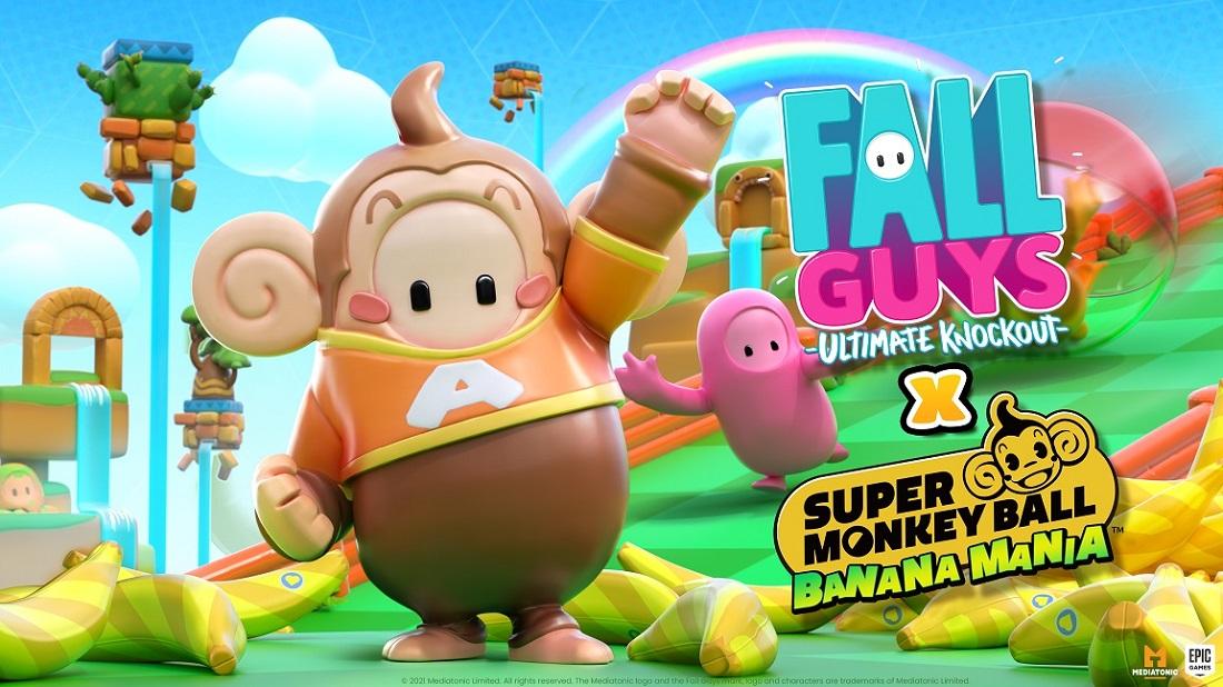 Super Monkey: Ball Banana Mania y Fall Guys: Ultimate Knockout ofrecen monos y frijoles