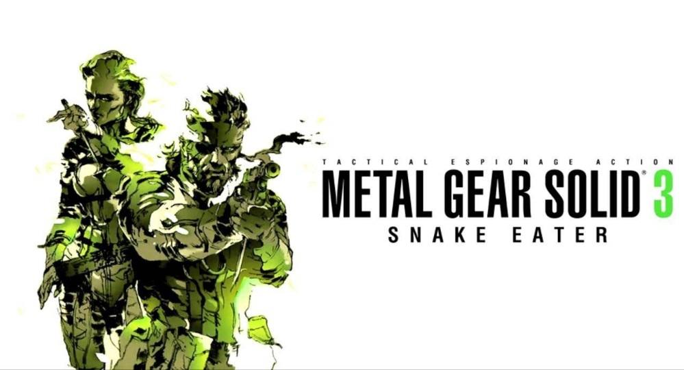 Metal Gear Solid 3 remake en desarrollo, y no es una máquina pachinko