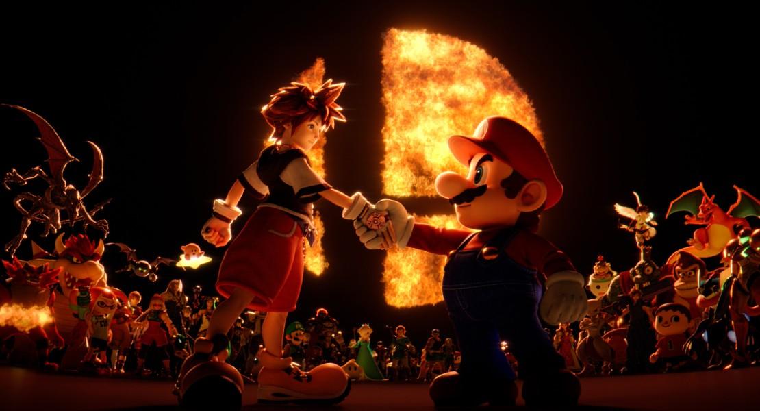 Sora será el último luchador de Super Smash Bros. Ultimate