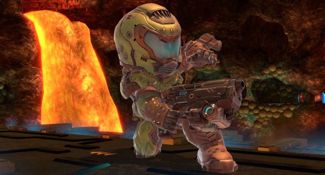 Doom Slayer estará presente en Super Smash Bros. Ultimate mediante un disfraz Mii