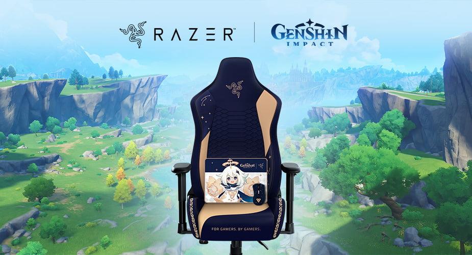Razer se alía con Genshin Impact y presenta nuevos periféricos