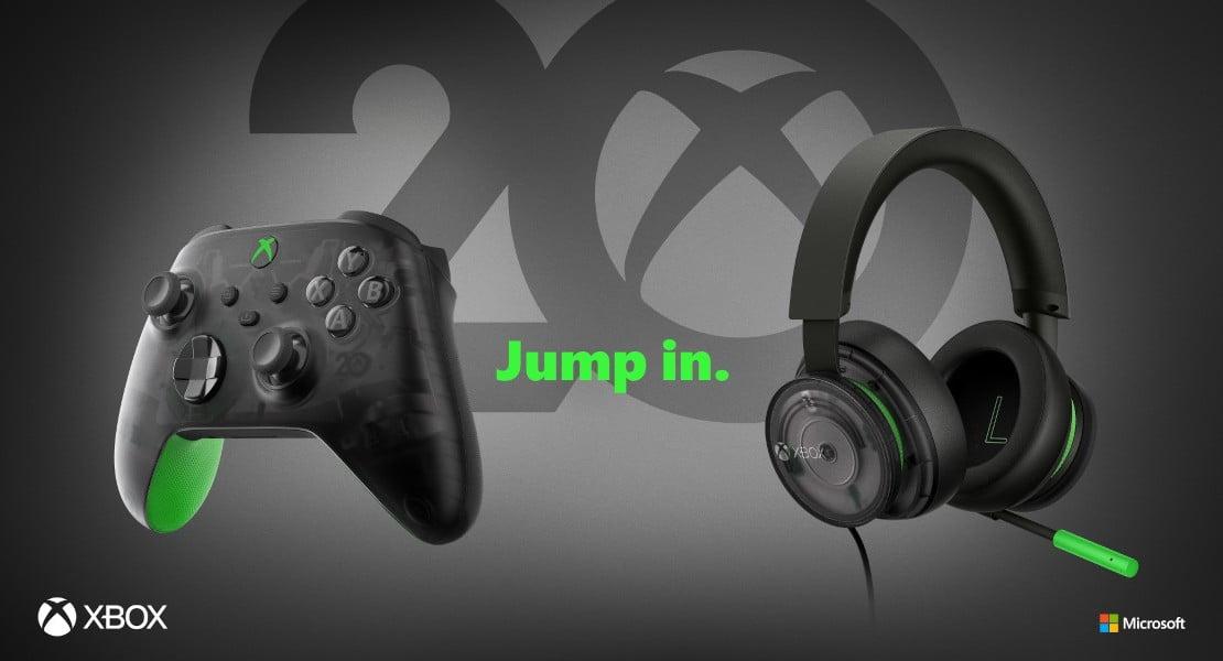 Microsoft celebra los 20 años de Xbox con nuevos accesorios exclusivos