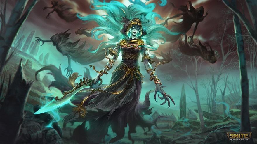 Cliodhna, señora de las banshees, gritará a dioses y hombres en Smite