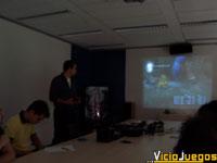 Con David Lee a los mandos, observamos el sistema de combates del juego en el escenario de las Minas de Moria.
