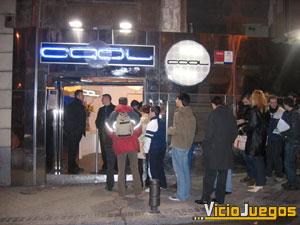 """El lugar del evento, la conocida discoteca funky """"Cool"""""""