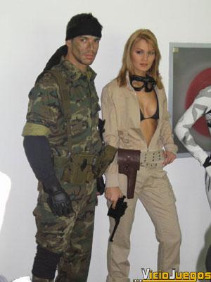 """Snake y EVA estuvieron presentes en el evento. ¿Quien dijo que el """"Cosplay"""" era una horterada?"""