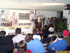 El Presidente de Konami España inició la rueda de prensa hablando un poco del pasado de la filial de nuestro país.