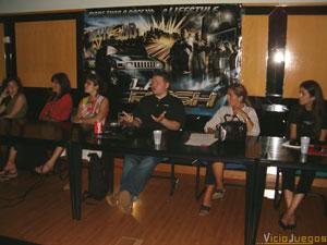 Presentación de L.A. Rush en Madrid